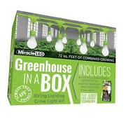 Almost Free Energy Greenhouse In A Box Grow Light Kit For Indoor Plants -