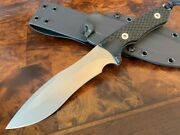 Spartan Blades Knife Ronin Shinto S45vn Uncoated Blade Black Kydex Exclusive