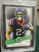 2015 Topps Museum Collection Arian Foster Houston Texans Emerald Variation 1/1