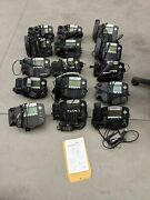 Lot 15 Polycom Soundpoint Ip 550 W/ Stand, Handset, Power Supply 2201-12550-001