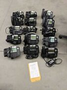 Lot 15 Polycom Soundpoint Ip 550 W/ Stand Handset Power Supply 2201-12550-001