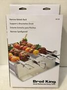 New In Sealed Boxbroil King Narrow Kebab Rack For Barbecue/gas Grills69138