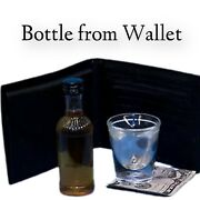 Shot Glass From Wallet Leather Produce Small Liquor Bottle Flat Party Bar Adult