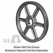 Browning 2tb80 Split Taper Sheave, Cast Iron, 2 Groove, A Or B Belt, Uses Q1 Bus
