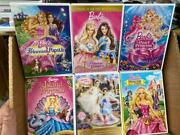 Barbie Dvd Lot 24 Great Big Lot - Great Collection Nutcracker Pink Shoes Etc