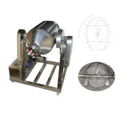 15.8 Gallon Metal Metallurgy/feed Dry Powder Mixer W/fixed Height Stand 025201