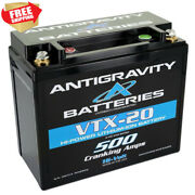 500 Cranking Amp Lithium Ion Battery For Drag Racing Race Car Motorcycle 16 Volt