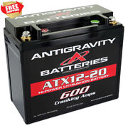 600 Cranking Amp Lithium Ion Battery For Drag Racing Race Car Motorcycle 12 Volt