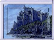 Game Of Thrones The Complete Sketch Card Dragonstone By Dan Bergren