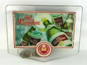 Mcm Old Milwaukee Beer Bar Sign Light Collectible 1960and039s