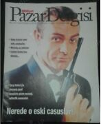 James Bond Sean Connery Cover Magazine From Middle East 1st Time