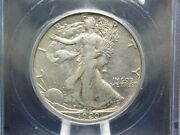 1920 S Walking Liberty Half Dollar 50c Icg Au50 East Coast Coin And Collectables