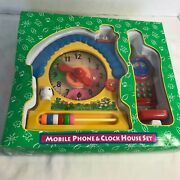 Mobile Phone And Clock House Play Set Dayton Hudson Corporation 18 Months And Up New