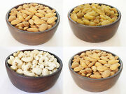 Wooden Handmade Bowls For Dry Fruit Snacks Natural Sheesham Wood Antique Look