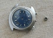 Valjoux Chronograph Vintage Case + Pushers + Crystal And Dial For Valjoux 7765