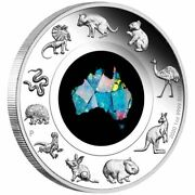 2020 1 Great Southern Land 1oz Silver Proof Opal Coin