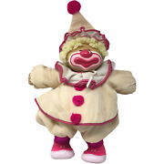 Vintage 18 Cabbage Patch Kids Doll Clown Pink Buttons Hat Mask Shoes