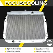 3 Rows Aluminum Radiator For 1961-1964 Ford F-100 F-250 F-350 Factory V8 Engine