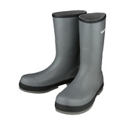 Shimano Fishing Evair Rubber Boots Color - Gray Size - 8