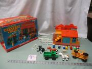 Vintage Fisher Price Little People Play Family Western Town 934 Q Horse Box Set