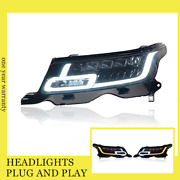 For Range Rover 2014-2017 Led Headlights All Led Source With Drl Dynamic Turn