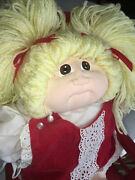 1980 Little People Cabbage Patch Doll Designed And Signed By Xavier Roberts.andnbsp