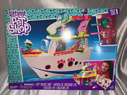 Littlest Pet Shop Lps Cruise Ship Playset With 3 Pets And Accessories, New