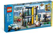 New Sealed Lego 3661 City Bank And Money Transfer Police Car Motorcycle Robber