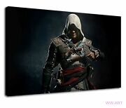Assassins Creed Black Flag Shadows Pc Game Ps4 Canvas Wall Art Picture Print
