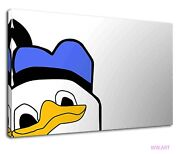 Donald The Duck Digital Artwork For Kids Bedroom Canvas Wall Art Picture Print