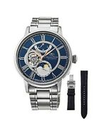 Orient Watch Orient Star Classic Mechanical Moon Phase Rk-am0011l Men's Silver