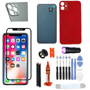 Front Screen Glass Lens Rear Door Battery Cover Tools For Iphone 7 Plus Red Es