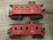 Postwar Lionel Train 6257 Sp Southern Pacific Caboose Lighted/working Coupler