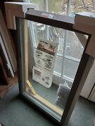 Andersen Fixed Roof Window With Flashing Kit Dark Brown - New - Local Only