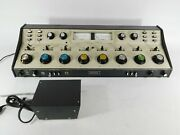 Sparta As-40b Vintage Mixer Mixing Console W/ Power Supply Powers Up Untested