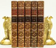1837 Ancient Egyptians Fine Leather Bound By J. Clarke Color Plates 1st Edition