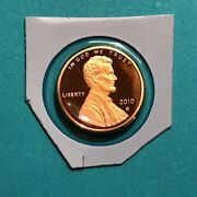 2010 S Proof Lincoln Cent