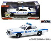 Hot Pursuit Dodge Coronet Or Ford Crown Police Car 124 Greenlight 85521 85523
