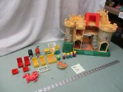 Fisher Price Little People 993 Castle Dragon Play Family Queen Knight Oh Queen