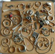 Junk Drawer Sterling Silver G8 For Jewelry Makers Repurpose 1 Piece 209g