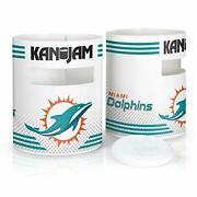 Kan Jam Nfl Miami Dolphins Direct Print Disc Throwing Game Multi One Size