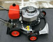 Lawn Boy Commercial Mower Andndash One Of A Kind Andndash New Parts - Stand Out Chrome Look