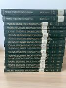 Vintage Funk And Wagnalls Young Students Encyclopedia 17 Volume Set 1972