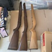 X3 Gun Rifle Stock Wood Parts Butt Winchester Vintage Used Bolt Action Blank