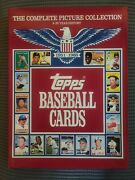 Topps Baseball Cards Complete Picture Collection Book 1951-1985