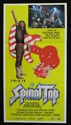 This Is Spinal Tap 1984 Orig Australian Daybill Movie Poster Heavy Metal Band