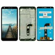 Lcd Screen Touch Digitizer Frame For Lg Tribute Royal Sprint/aristo 4 Plus X320