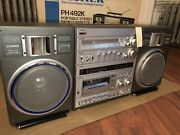 Fisher Ph 492k Boombox. Fully Functional No Mileage Video Link Below