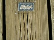 Mint Nwt Stagecoach 1 Oz Troy .999 Fine Solid Silver Divisable Bar