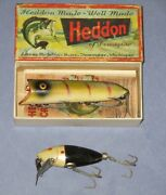 Vintage Heddon Lucky 13 W/ Box And True Temper Shad Fishing Lures